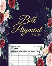 "Bill Payment Tracker: Monthly Bill Organizer 8.5""x11"" (Bill Paying Organizer)."