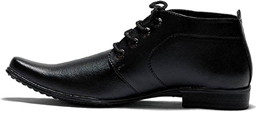 9b2f03a8a339c OORA Men's Faux Leather Black Color Ankle Length Shoes Office Wear Formal  Boots: Buy Online at Low Prices in India - Amazon.in