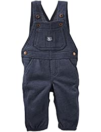 OshKosh B'gosh Baby Boys' Sweater Fleece Overalls
