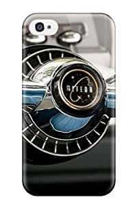 Unique Design Iphone 4/4s Durable Tpu Case Cover Buickclassic Car And Screensavers