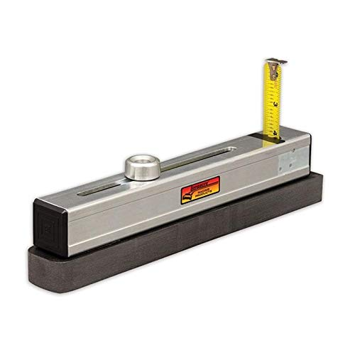 Longacre 52-78319 Mini Chassis Height Checker for Scale Pads (Levelers Roll Off)