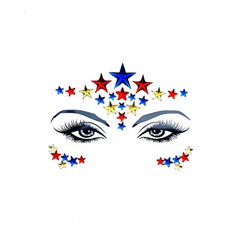 - Neva Nude American Beauty Crystal BodiStix In Your Face Edition Sticker