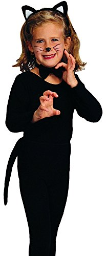 Halloween Accessories Cat (Rubie's Costume Child's Cat Costume Accessory Kit)