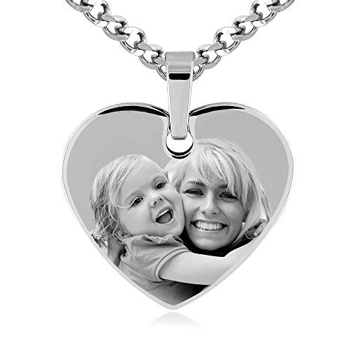 Photo Engraved Heart - 4