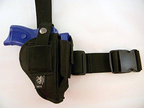 Usa Made TACTICAL DROP LEG THIGH HOLSTER RIG - Cw40 Mag