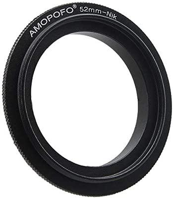 Sourcingmap - Anillo Adaptador de Rosca para cámaras réflex ...