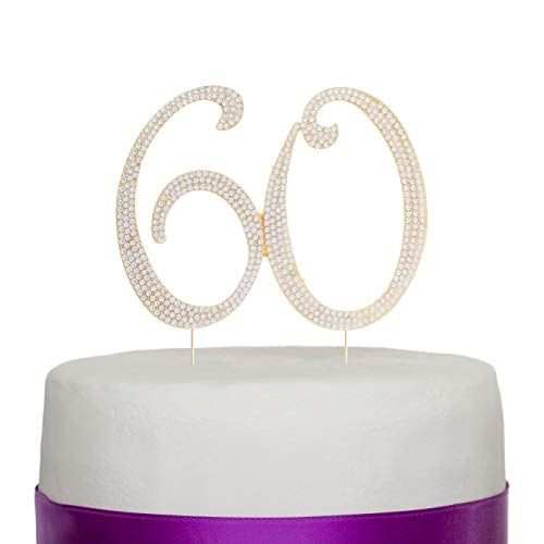 Cake Decorations Ideas - Ella Celebration 60 Cake Topper for