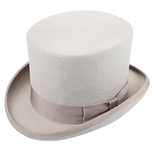 Charlie Chaplin Costume Kids (Sedancasesa 100% Wool Felt Top Hat Vitorian Style Gentlemen Magic Performing Hat)