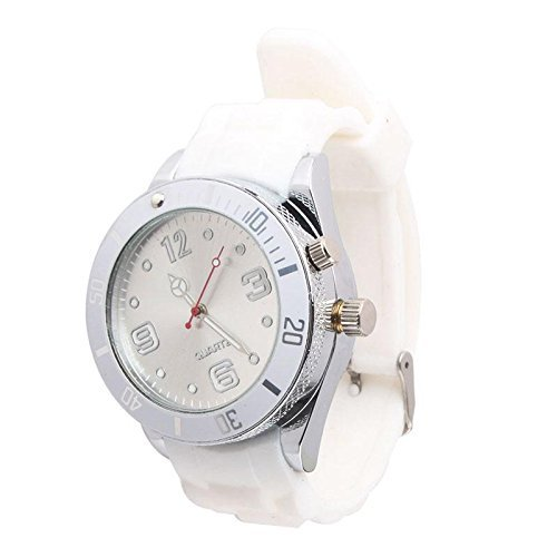 CFHKStore Wrist Watch Grinder Tobacco Herb Crusher White Agile Lovable (Tobacco Grinder Watch compare prices)