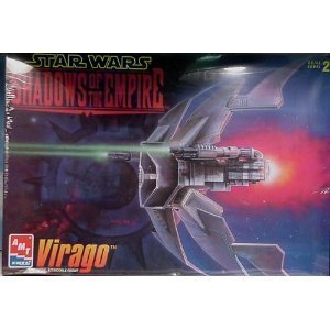 - #8377 AMT/ertl Star Wars Shadowsg of the Empire Virago Plastic Model Kit,Needs Assembly