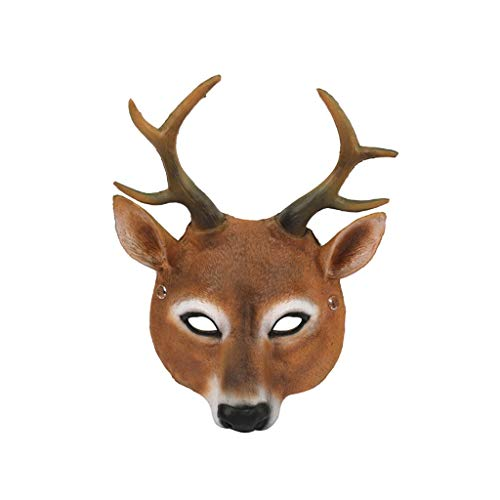 Iulove Halloween Cosplay Scary Mask Costume for Adults Party Decoration Props Creepy