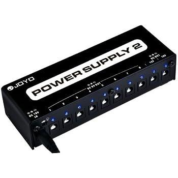 donner dp 1 guitar pedal power supply 10 isolated dc output for 9v 12v 18v effect. Black Bedroom Furniture Sets. Home Design Ideas