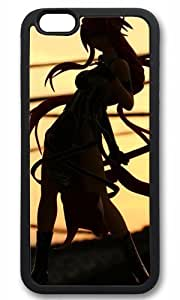 Fashionable samurai girl Thanksgiving Halloween Masterpiece Limited Design TPU Black Case for iphone 6 by Cases & Mousepads by ruishername