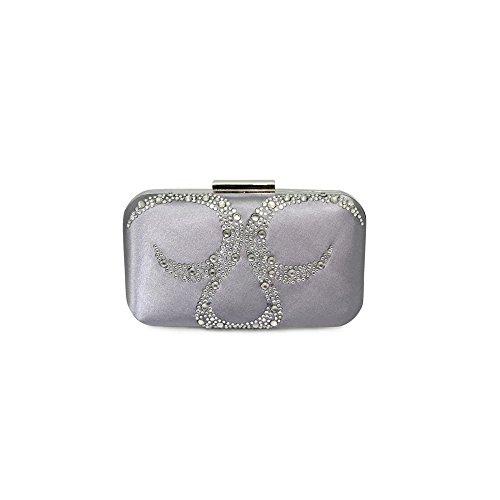 Lunar Arkle Clutch Bag Silver