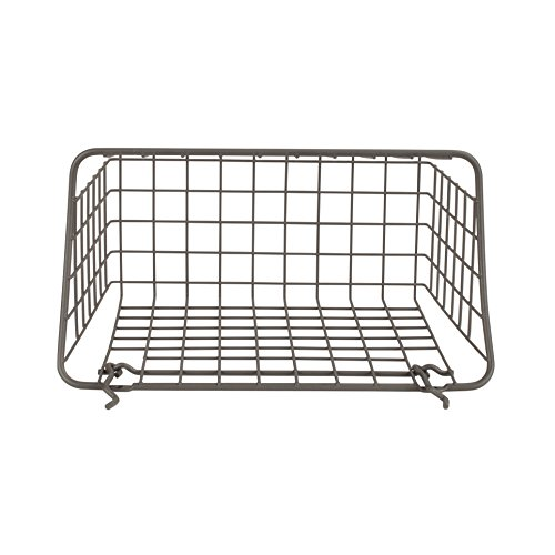 """10/"""" x 5/"""" x 7/"""" Pegboard /& Wall Mount Large Wire Basket for Slatwall,Versatile New"""