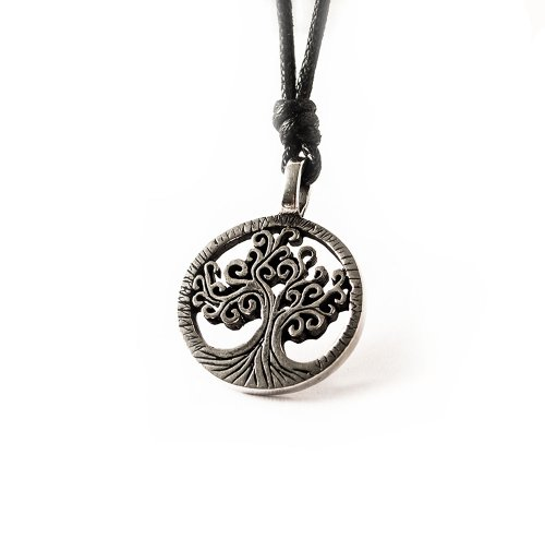 - Celtic Tree of Life Silver Pewter Charm Necklace Pendant Jewelry