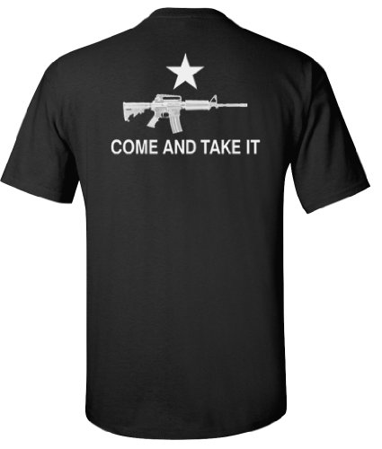 Black AR-15 Come and Take It T-Shirt