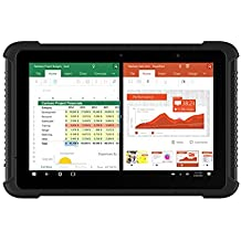 Vanquisher 10-Inch Ultra Rugged Tablet (2nd Gen), Windows 10 / Intel Quad Core CPU / Corning Gorilla Panel / IPS Screen / IP65 Waterproof / GPS GNSS, For Field Applications