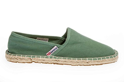 Superga 4524 Cotu - Zapatillas Unisex adulto Green Malachite