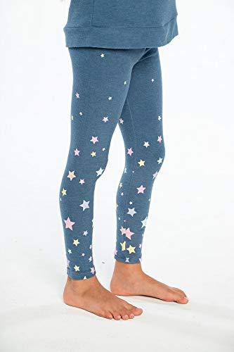 CHASER Girls Candy Stars Kids Cozy Leggings