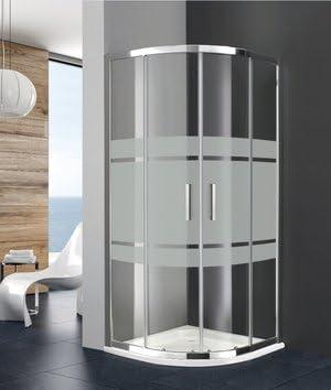 Mampara de ducha 1/4 de Círculo Prestige Titan acceso de cara (dos ...