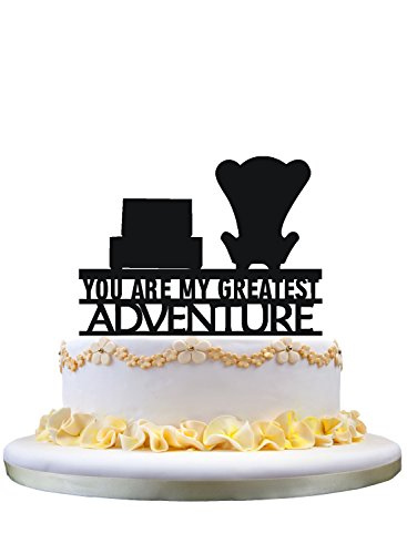 Disney Wedding Cake Toppers (Up You are my Greatest Adventure Wedding Cake Topper,party decoration,cake)