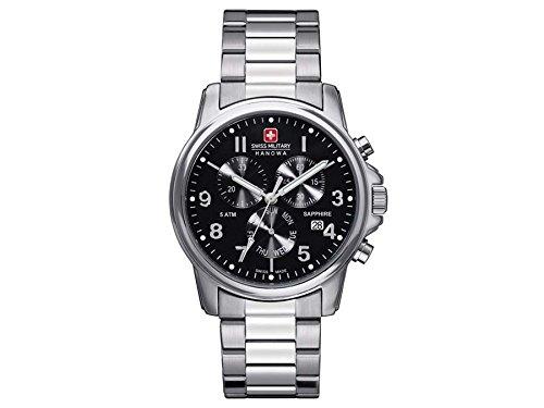 Swiss Military Hanowa Men's Swiss Soldier 06-5233-04-007 Silver Stainless-Steel Swiss Quartz Watch