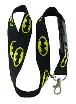 Batman Logo Lanyard Keychain ~Super Hero~]()