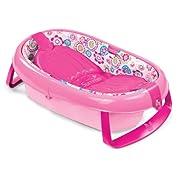 Summer Infant EasyStore Comfort Tub, Pink