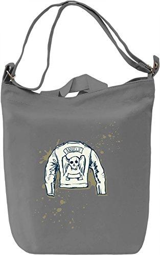 Angels jacket Borsa Giornaliera Canvas Canvas Day Bag| 100% Premium Cotton Canvas| DTG Printing|