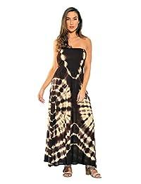 Riviera Sun Strapless Tube Maxi Dress Summer Dresses