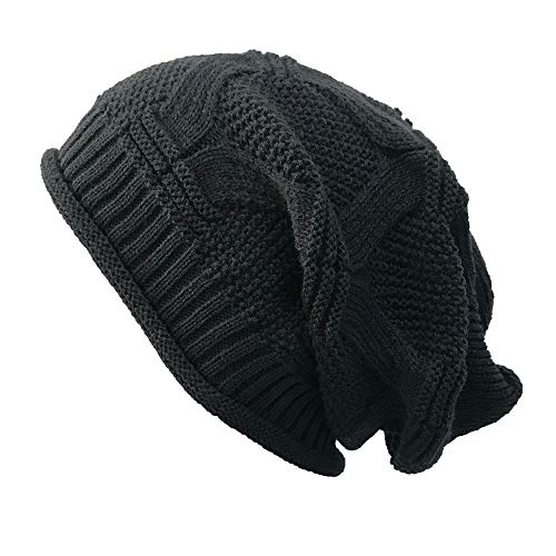 URIBAKE ❤ Women's Knitted Beanie Casual Outdoor Hats Crochet Hip-hop Cap Woolen -