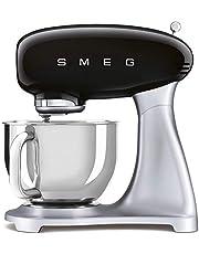 Smeg SMF02BLEU Keukenmachine Jaren '50, zwart
