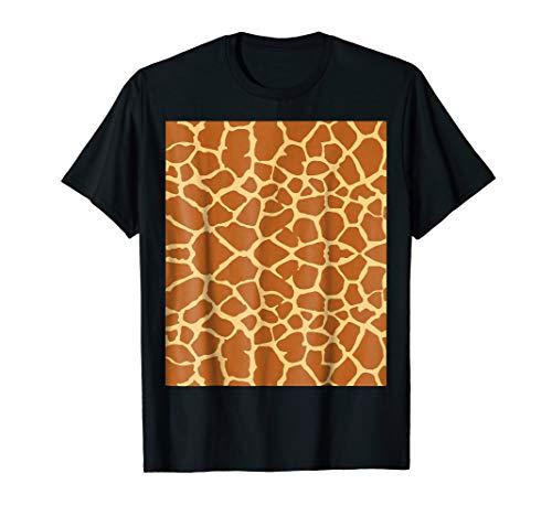Giraffe Print T Shirt Giraffe Pattern Costume Gift Shirt