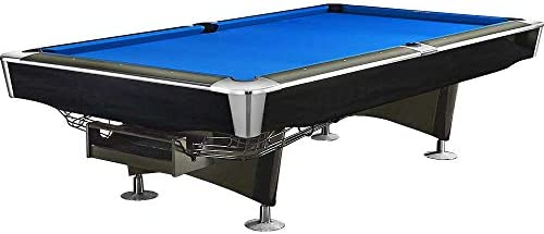 Mesa de Billar Feel Comfort Georgia 8 FT (Azul/Negro) Pool Snooker Pizarra Incluye Juego de Accesorios: Amazon.es: Deportes y aire libre