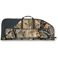 """Bulldog Cases Deluxe Bow Case with 36"""" Quill Pocket (Black and Camo, 42-Inch)"""