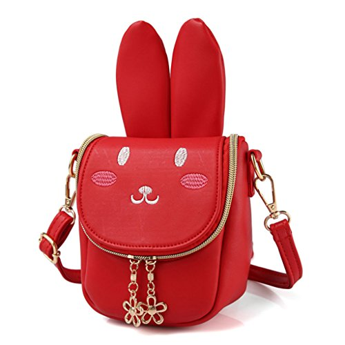 Long 3 Rabbit 75x6 Long Claro Red Blue 7x7x16cm Color Perro Azul diseño para Rabbit 69x2 de Ear Light Ear Bandolera 6 niños Bolso Dabixx xwUHv7qRq