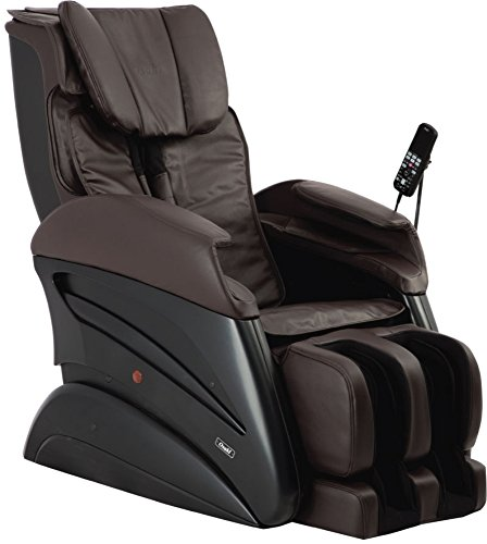 Osaki TW-CHIRO B Oversize 3D Massage Chair, Brown, 3D Body Scanning, 3D Massage for Deep Tissue Precision Shiatsu, 3D Advanced Massage Technology, S-Track Massage, Back Pad Pillow