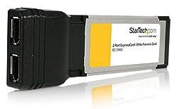 StarTech.com 2 Port ExpressCard Laptop 1394a Firewire Adapter Card (EC13942)
