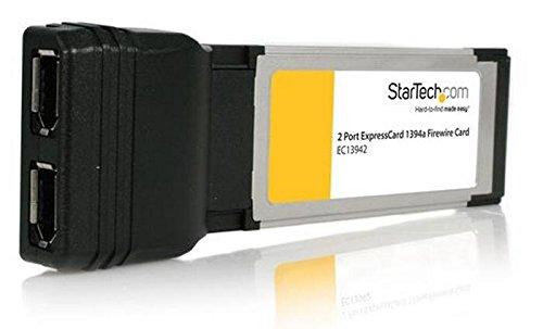 54 Mbps Usb (StarTech.com 2 Port ExpressCard Laptop 1394a Firewire Adapter Card (EC13942))