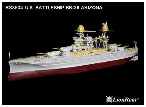 Shanghai Lion Roar 1/350 Parts Set US Navy battleship Arizona for HB company RS3504