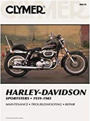 Clymer Repair Manual For Harley Sportster Xlhxlchxl 59-85