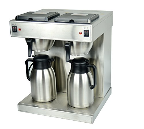 Hakka Commercial Pour Over Air Pot Coffee Brewer and Coffee Maker (220V/60Hz,Plug Exchangeable) by HAKKA FOOD PROCESSING (Image #2)