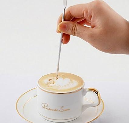 Efbock de café de acero inoxidable café de la pluma de lujo aguja latte máquina Cappuccino