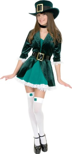 Leprechaun Teen/Junior Costume - Teen Medium