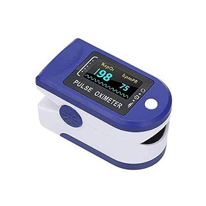 3one3™ Finger Pulse Oxygen Meter, SPO2 Blood Oxygen Saturation, Pulse Rate (PR) with OLED Digital Display (Multicolor)