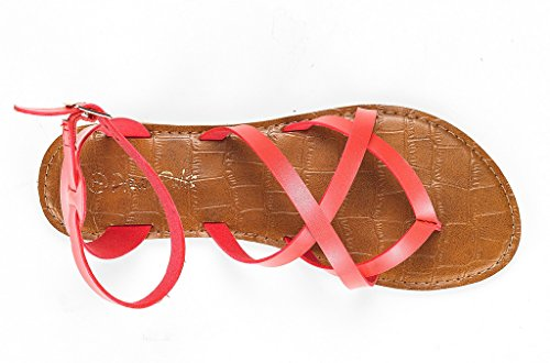 Sandal Safari DREAM Flat Coral Women's PAIRS TnYrnxEI