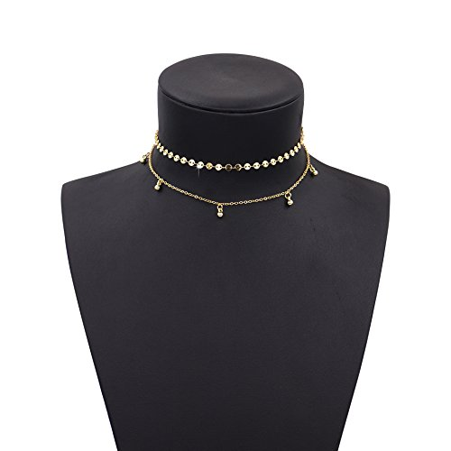 Boosic Double Choker Pendant Necklace