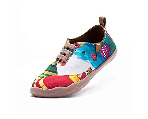UIN Ballon à air chaud Chaussures de toiles età la mode multicolore pour enfant (adolescent)