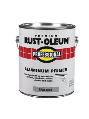 Rust-oleum 8781-402 Professional Aluminum Primer, Flat Gray, 1 Gallon (Pack Of 2)